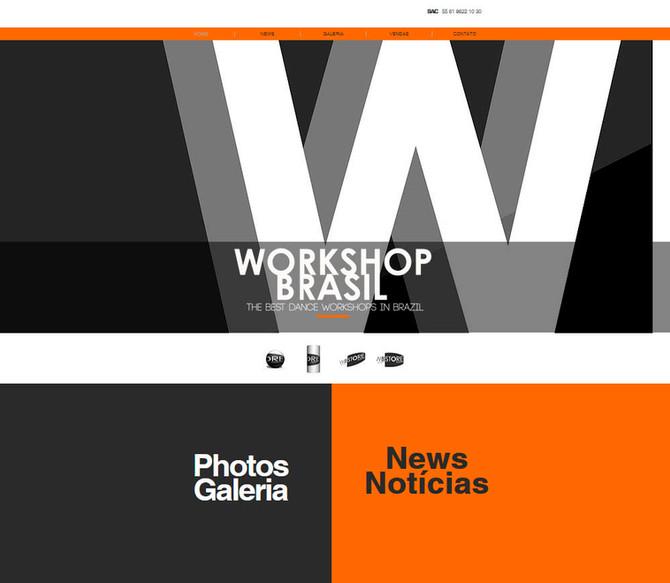 Novo site Workshop Brasil