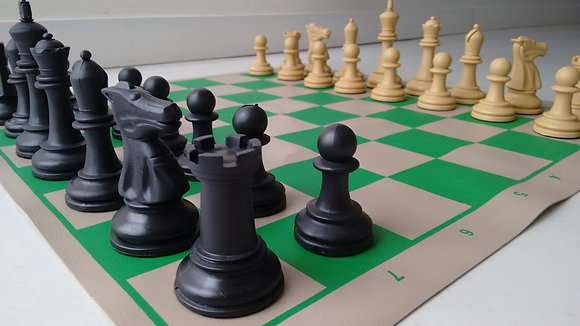 Jogo de xadrez Staunton Profissional - peças e tabuleiro