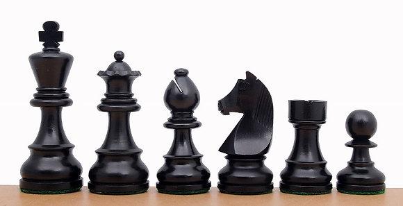 Peças de madeira Staunton - padrão FIDE