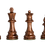 Thumbnail: Peças de xadrez House of Staunton Marrom - 3,75 polegadas