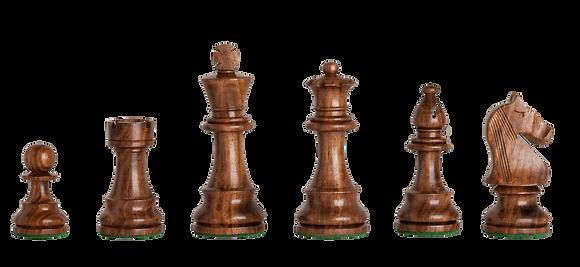 Peças de xadrez House of Staunton Marrom - 3,75 polegadas