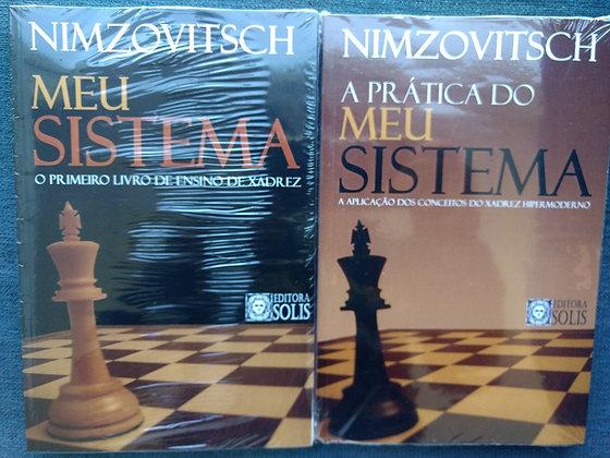 Combo Nimzowitsch - 2 livros classicos português