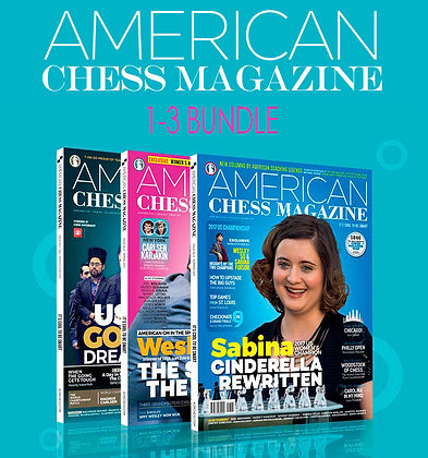 Kit American Chess Magazine - numeros 1-3