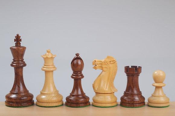 Peças de xadrez Staunton Classic II - Rei 10 cm