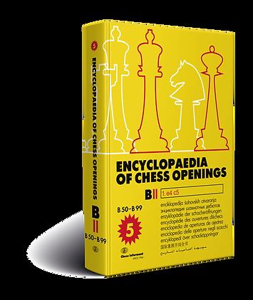 Enciclopedia Of Chess Openings, Volume B - Part 2