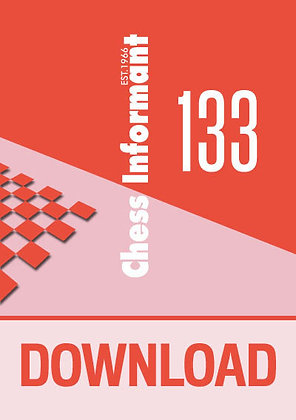 Chess Informant 133 - DOWNLOAD