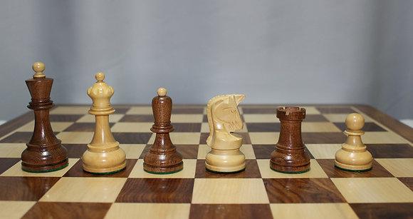 Peças de xadrez Dubrovnik 1950 - favorito do Bobby Fischer