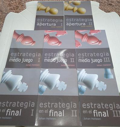 Coleção Estrategia, 8 volumes - Johan Hellsten
