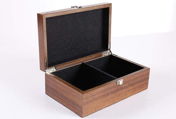 Estojo de madeira - para peças até 4,0 polegadas