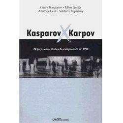 Kasparov X Karpov - match 1990
