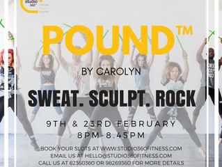 POUND® at Studio 360 Fitness