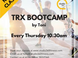 UPDATE: New Classes @ Studio 360 Fitness