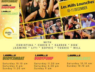 Les Mills new releases are here !