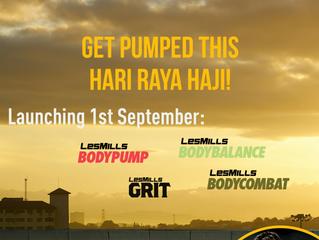 Get pumped this Hari Raya Haji !!!