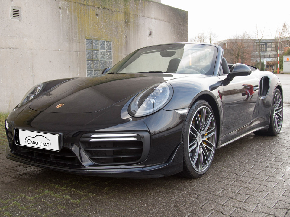 SOLD - PORSCHE 911 TURBO S CABRIOLET