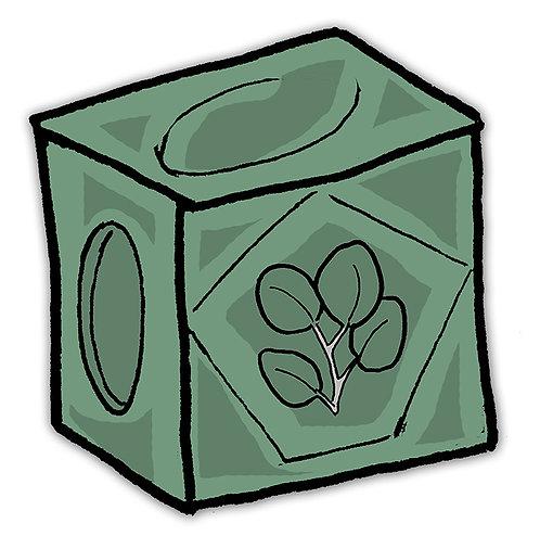 Butt cube