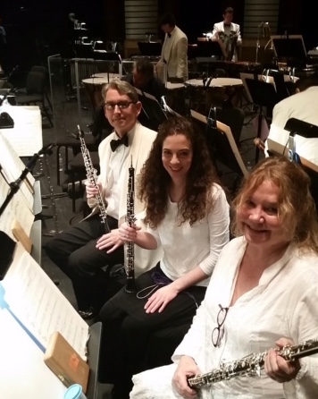 Pops oboes in West Palm Feb 2017