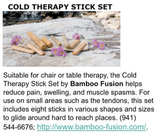 Bamboo-Fusion Massage featured in American Spa Magazine
