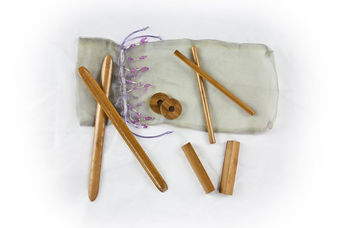 bamboo massage tool kit bamboo-fusion