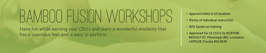 Bamboo-Fusion Workshops