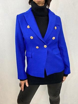 Colbolt blue lined blazer