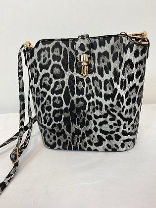 Snakeprint Bag with long adjustable shoulder strap