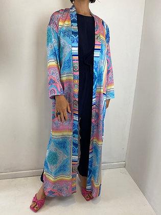 Silky Feel Long Kimono/Kaftan