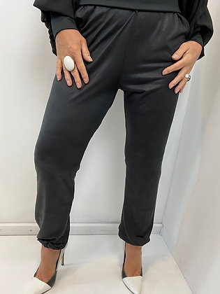 Black Trousers with ankle cuff