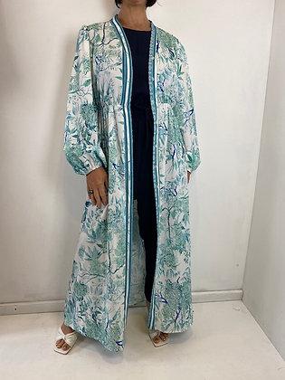 Peppermint patterned Maxi Dress/Kaftan