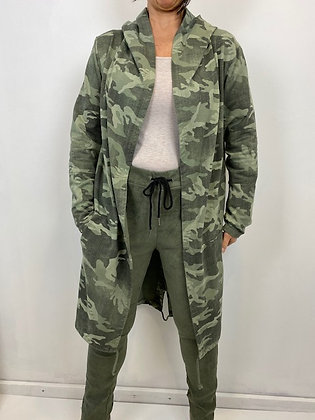 Khaki Camouflage Light Jacket