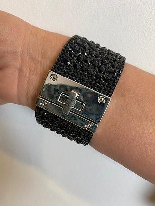 Black diamanté Bracelet