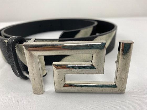 Snake print PU Leather Belt