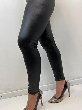 Black Leggings PU