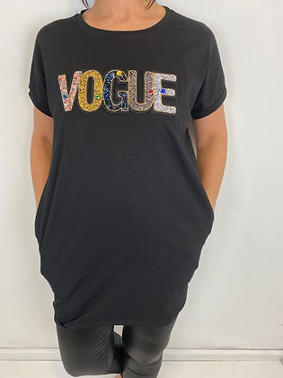 Long T-Shirt/Dress with side pockets