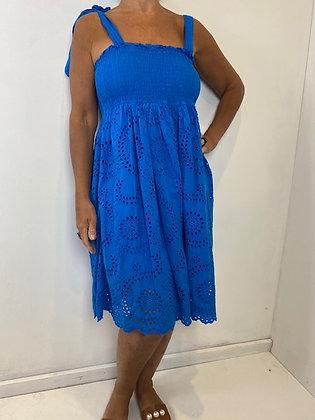 Colbolt Blue Sundress