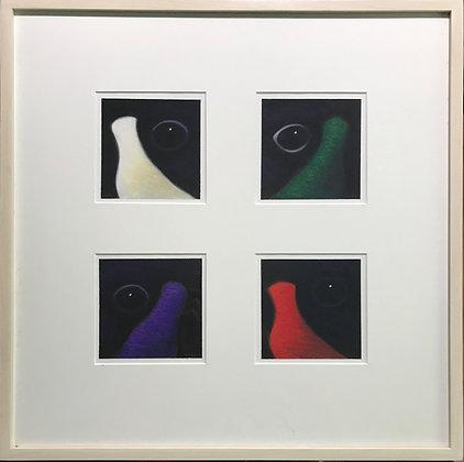 Canada Goose in Liturgical Colors