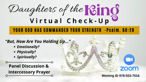 Daughters of the King Virtual Check-up