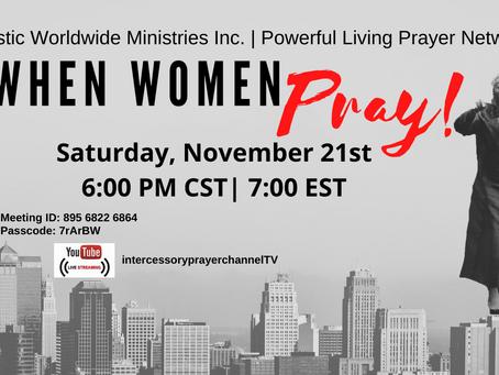 When Women Pray!
