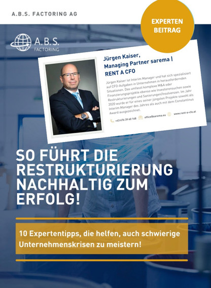 Expertenbeitrag / eBook A.B.S. Factoring