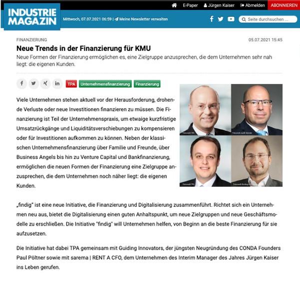 Industrie Magazin 05.07.2021