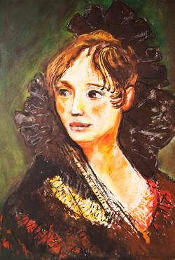 Portrait of a Spanish Woman - Goya