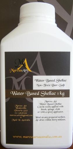 Water Based Shellac