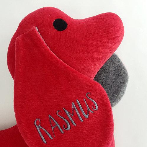 Dackel Rot mit Name