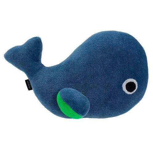 Baby Wal Rauchblau mit Name