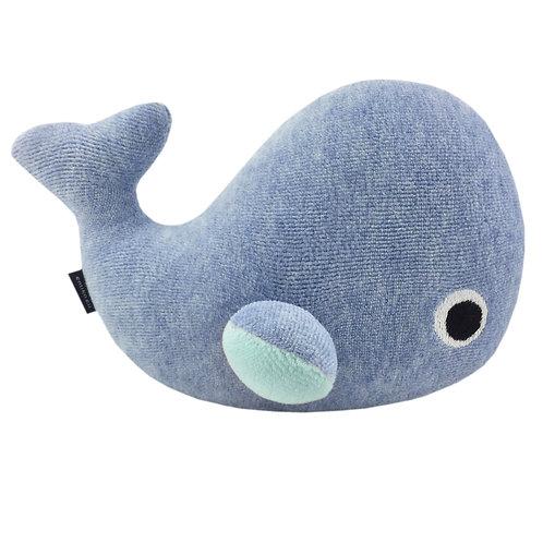 Baby Wal Hellblau mit Name