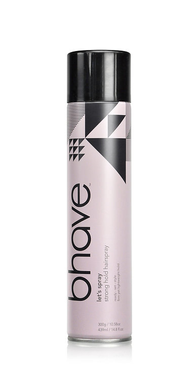 Bhave Strong Hold Hair Spray 439ml