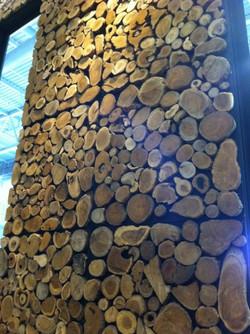 Parement de bois