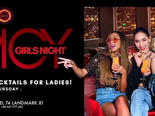 TOP LADIES NIGHT SÀI GÒN - TIỆC COCKTAILS KHÔNG GIỚI HẠN CHO CÁC CÔ NÀNG