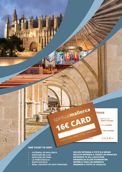 SPIRITUALMALLORCA CARD. Entrada única para los mejores monumentos de Mallorca.