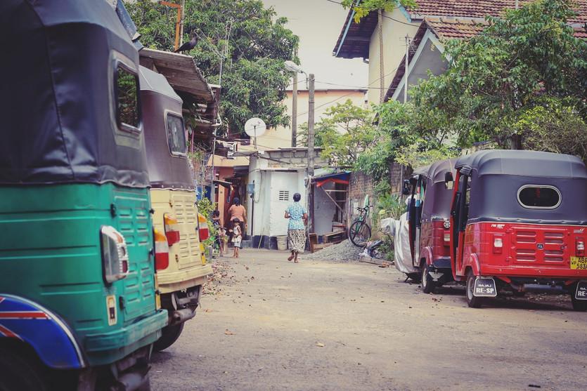 SRI LANKA  – taking the wild train.